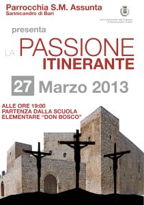 Passione Itinerante - Sannicandro di Bari